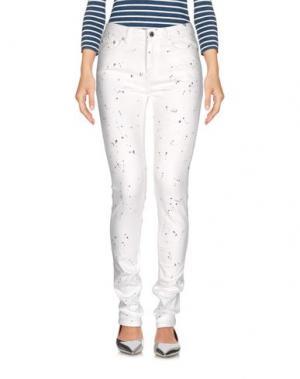 Джинсовые брюки BLK DNM. Цвет: белый