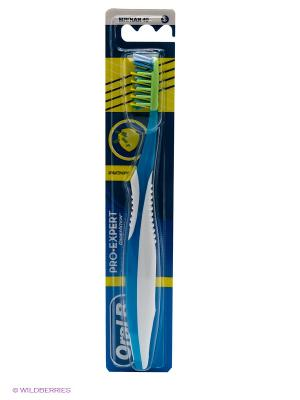 Зубная щетка, ProExpert Антибактериальная 40 мягкая ORAL_B. Цвет: синий
