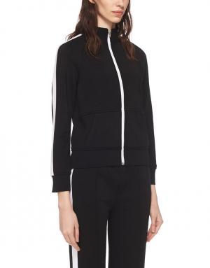 Спортивная куртка T by Alexander Wang. Цвет: черный