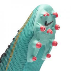 Футбольные бутсы для игры на разных покрытиях дошкольников/школьников  Jr. Mercurial Vapor XII Academy CR7 MG Nike. Цвет: зеленый