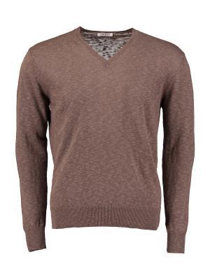 Пуловер Gioferrari. Цвет: коричневый
