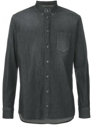 Джинсовая рубашка Weber +. Цвет: серый