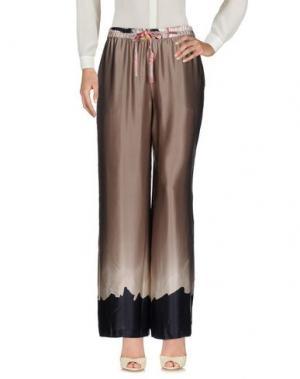 Повседневные брюки TESSUTO DELLA MEMORIA by MALÌPARMI. Цвет: серый