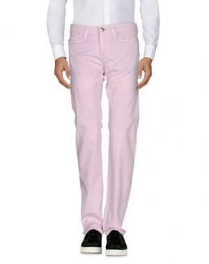 Повседневные брюки 9.2 BY CARLO CHIONNA. Цвет: светло-розовый