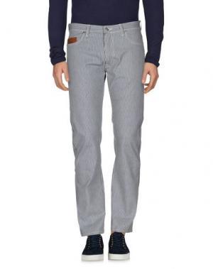 Джинсовые брюки UMIT BENAN. Цвет: синий