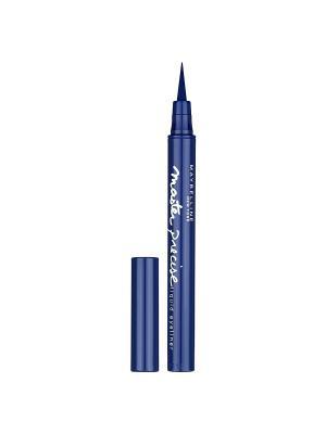 Лайнер для глаз Master Precise, подводка-фломастер, синий, 1 мл Maybelline New York. Цвет: синий