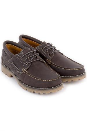 Туфли POLO CLUB С.H.A.. Цвет: коричневый