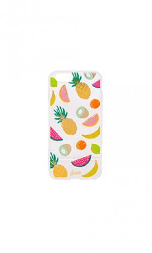Чехол для iphone 6/6s tropicana Sonix. Цвет: желтый