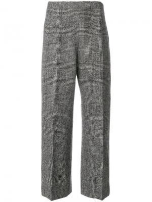 Укороченные брюки Ermanno Scervino. Цвет: серый