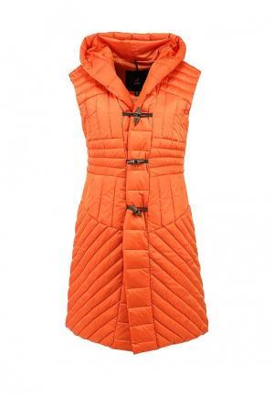 Жилет утепленный Odri. Цвет: оранжевый