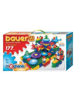 Конструктор Bauer серии  Mechanic 177parts Carousel (Карусель) 12/12. Цвет: голубой