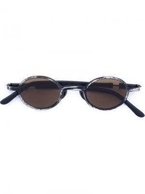 Солнцезащитные очки Mask Z10 Kuboraum. Цвет: чёрный