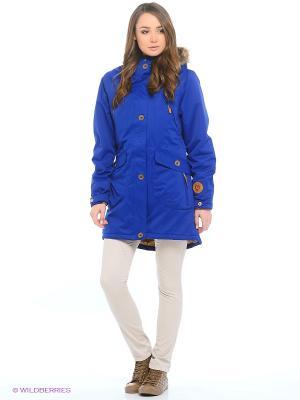 Куртка Guahoo. Цвет: синий