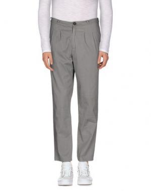 Повседневные брюки JIJIL. Цвет: серый