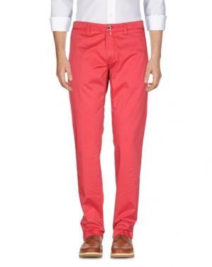 Повседневные брюки FRADI. Цвет: фуксия