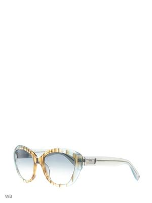 Солнцезащитные очки DQ 0146 86В Dsquared2. Цвет: коричневый, голубой