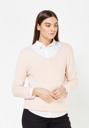 Пуловер Vila. Цвет: розовый