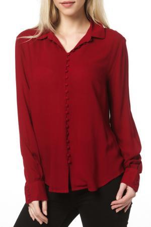 Блуза DEBY DEBO. Цвет: bordeaux