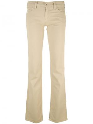 Расклешенные джинсы Armani Jeans. Цвет: коричневый