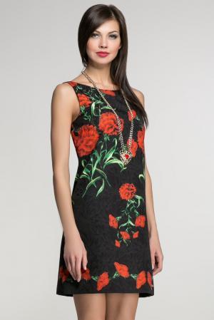 Платье с ожерельем AR1-142838 Babylon. Цвет: черный