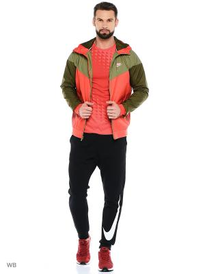 Ветровка M NSW WINDRUNNER Nike. Цвет: оранжевый