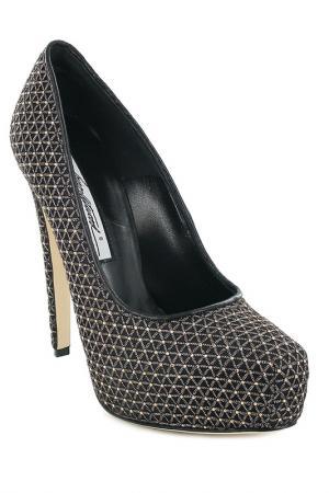 Туфли на платформе Brian Atwood. Цвет: черный