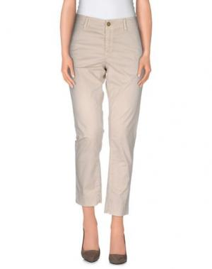 Повседневные брюки GANT. Цвет: бежевый