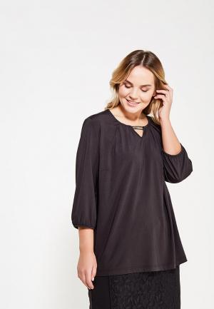 Блуза Ulla Popken. Цвет: черный