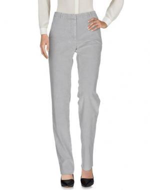 Повседневные брюки CELLAR DOOR. Цвет: светло-серый