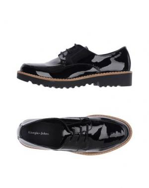 Обувь на шнурках GIORGIA & JOHNS. Цвет: черный