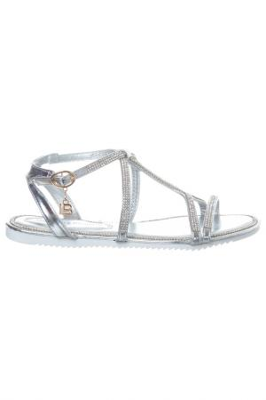 Sandals Laura Biagiotti. Цвет: silver