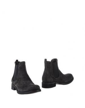 Полусапоги и высокие ботинки GRIFF ITALIA. Цвет: свинцово-серый