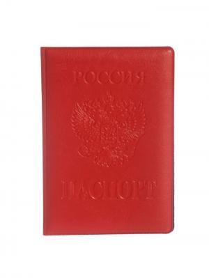 Обложка Bizon. Цвет: красный