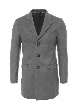 Пальто Gianni Lupo. Цвет: серый