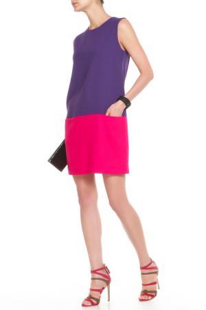 Платье P.A.R.O.S.H.. Цвет: фиолетовый
