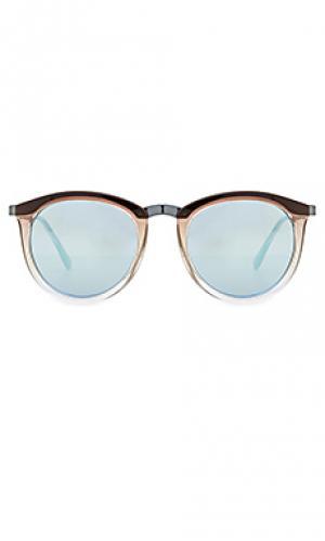 Солнцезащитные очки no smirking Le Specs. Цвет: уголь