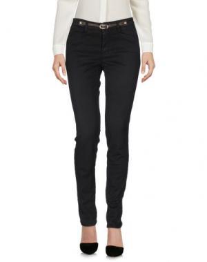 Повседневные брюки JECKERSON. Цвет: черный