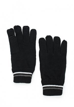 Перчатки MeZaGuz. Цвет: черный