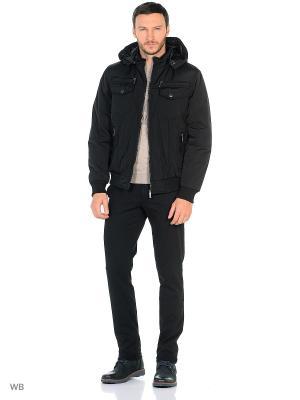 Куртка Milton. Цвет: черный