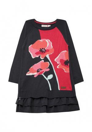 Платье Boboli. Цвет: черный