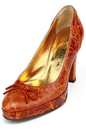 Туфли Mafra. Цвет: коньячный