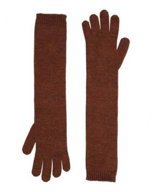 Перчатки DSQUARED2. Цвет: голубиный серый