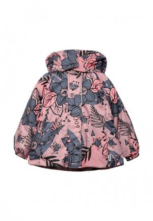 Куртка утепленная Lassie. Цвет: розовый