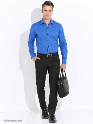 Рубашка Club21. Цвет: синий