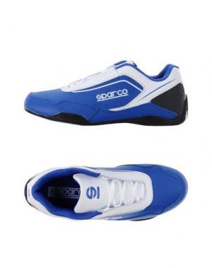 Низкие кеды и кроссовки SPARCO. Цвет: ярко-синий