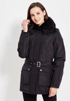 Куртка утепленная Usha. Цвет: черный