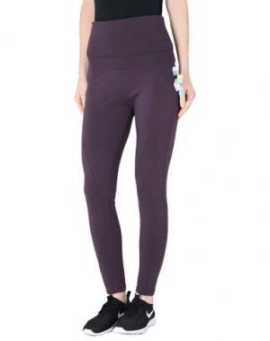 Повседневные брюки WEARGRACE. Цвет: баклажанный