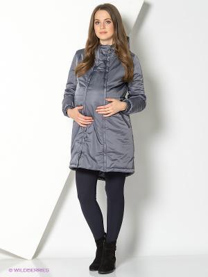 Куртка I love mum. Цвет: серый
