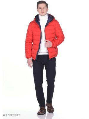 Пуховик SNOWIMAGE. Цвет: красный