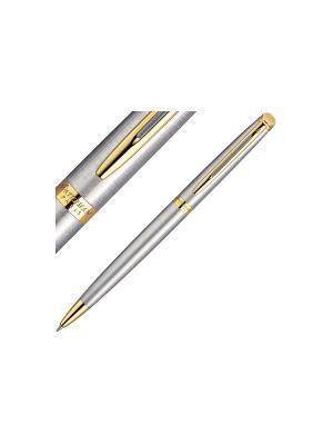 Ручка шариковая HEMISPHERE ESSENTIAL Stainless Steel GT Waterman. Цвет: серебристый
